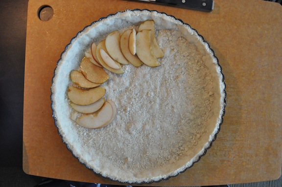 Rustic Apple Tart- Beginning