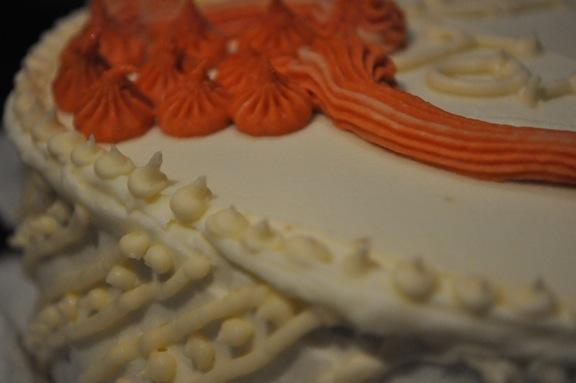 sketch cake detail