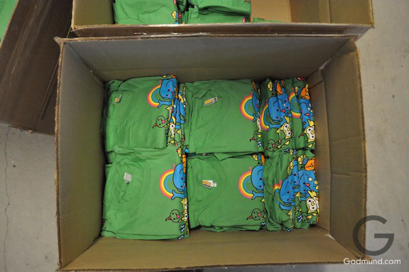 Some Super Green WOOT TShirts