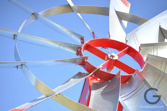 Windmill on the Farm
