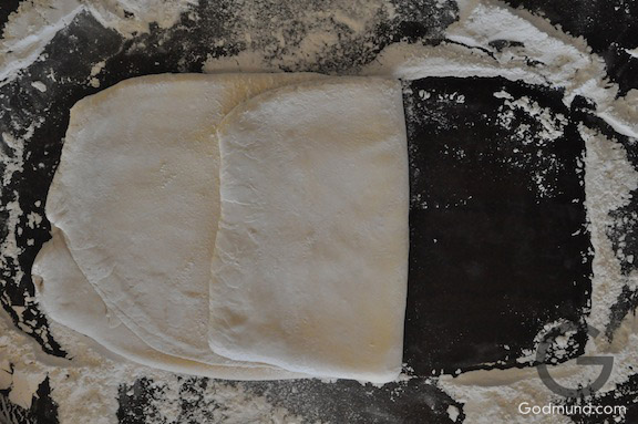 Folding the Puff Pastry Dough