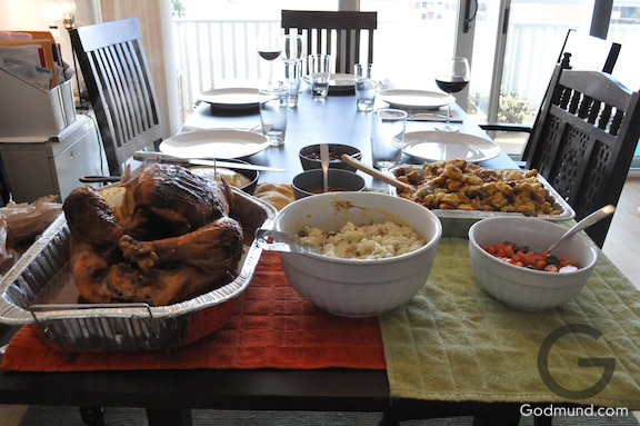 An Early Thanksgiving Lunch for 5 people
