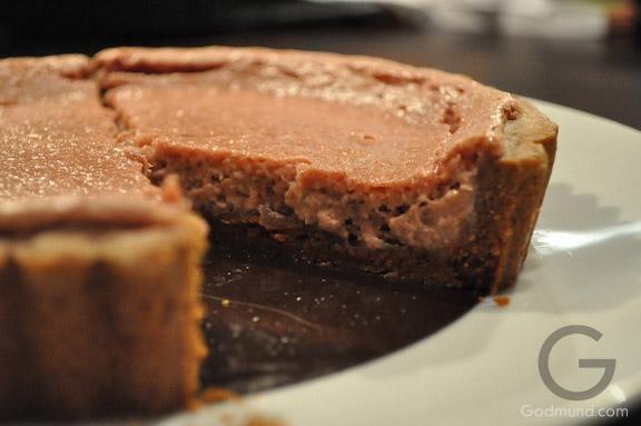 Raspberry Gingerbread Tart Recipe