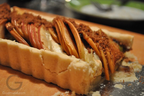 Apple and Brie Tart Recipe after baking Godmund