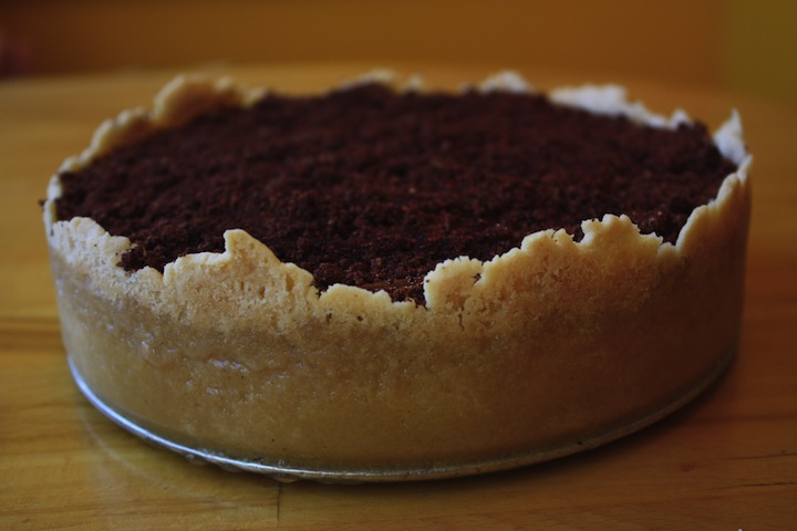 picture of Pumpkin_chocolate and ancho chili cheesecake
