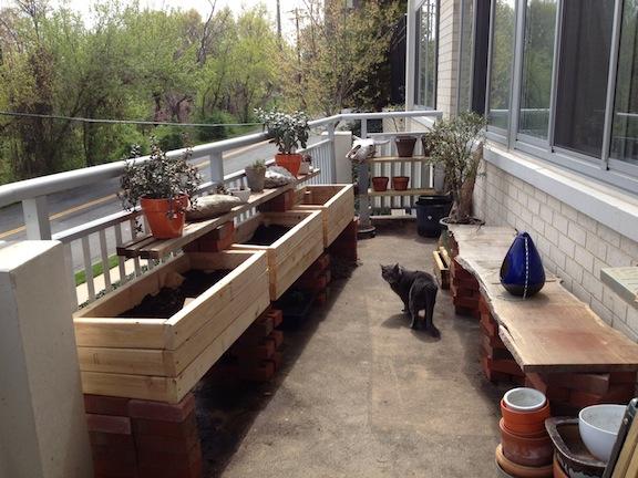 Ready for spring planting on the porch godmund.com