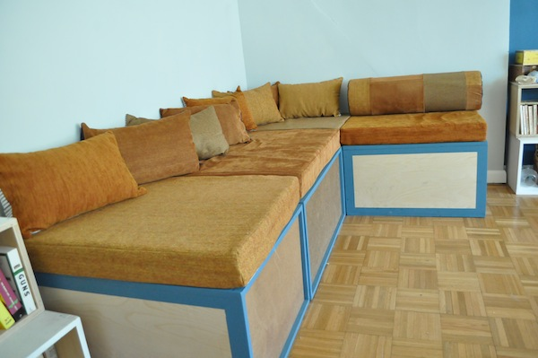 Tags: plywood, sewing, Sofa