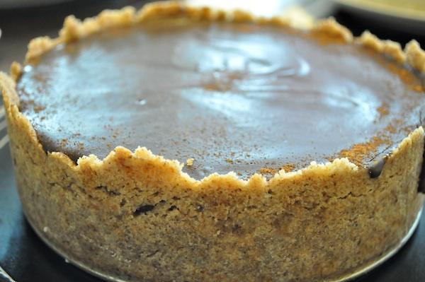 coffee cheesecake recipe godmund_top_view