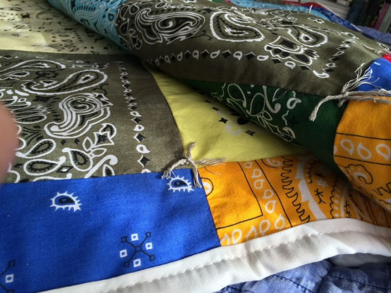 Folded handkerchief quilt - godmund.com